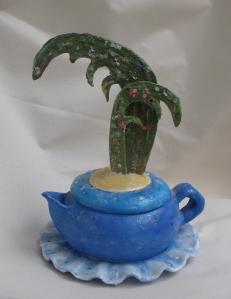 Desert Island Teapot