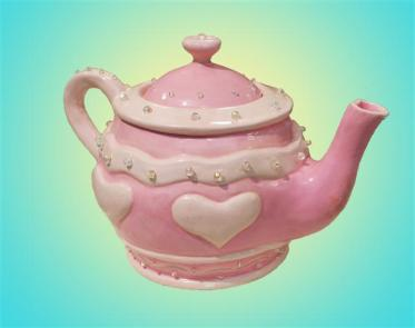 Barbie-inspired Teapot